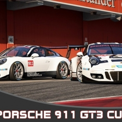 Assetto Corsa - Porsche 911 GT3 Cup 2017 - Silverstone National circuit.
