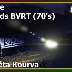 Dirt Rally - League - Legends BVRT (70's) - Fourkéta Kourva