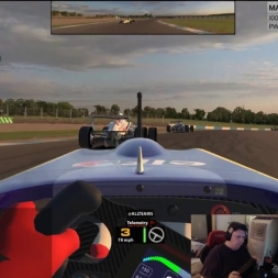 iRacing Formula Renault at Donington National - Damage Limitation