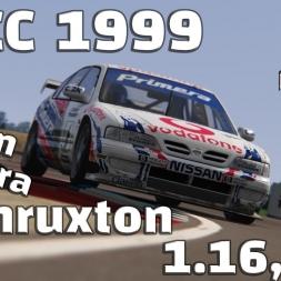 Assetto Corsa | BTCC 1999 | Nissan Primera | Thruxton | 1.16,248