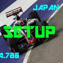 Japan GP - Haas F1 Team - Setup (1.34.780) No Assists