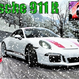 CHRISTMAS SPECIAL - Porsche 911 R in SNOW AND ICE - Assetto Corsa
