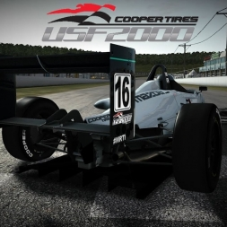 USF2000 Racing Highlights | WARNING: Contains graphic automotive imagery