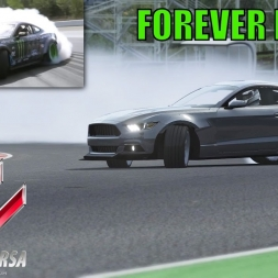 """FOREVER DRIFT"" - Ford Mustang - Assetto Corsa - Vaughn Gittin Jr. Remake"
