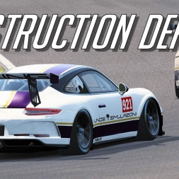 Porsche Destruction Derby -Assetto Corsa  Trackday Tuesdays