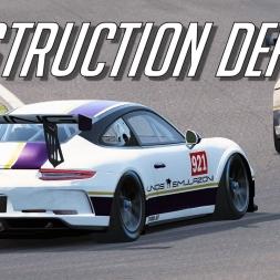 Porsche Destruction Derby -Assetto Corsa  Trackday Tuesdays