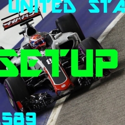 United States GP - Haas F1 Team - Setup (1.37.589) No Assists.