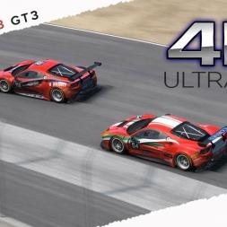 Project CARS 4k Ultra HD Gameplay & Replay Mixed Ferrari 488 GT3 Mod @ Laguna Seca