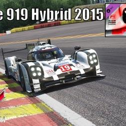 Porsche 919 Hybrid LMP1 2015 HOTLAP at Spa - Porsche DLC Pack 2 - Assetto Corsa