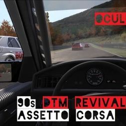 [VR] 90´s DTM Revival Nordschleife   OCULUS RIFT - Assetto Corsa Gameplay