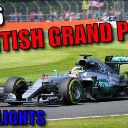 2016 BRITISH GRAND PRIX WEEKEND HIGHLIGHTS