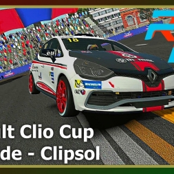 RFactor 2 - Renault Clio - Adelaide Street Circuit