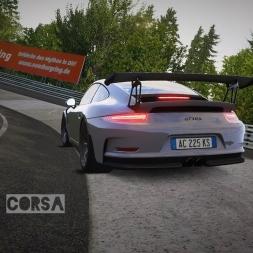 Assetto Corsa - World Record Run | Porsche 991 GT3 RS Nordschleife | 7:15.064