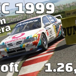 Assetto Corsa | BTCC 1999 | Nissan Primera | Croft | 1.26,456