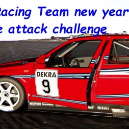 "BVRacing Team new year time attack challenge""Alfa Romeo 155 TI V6"""
