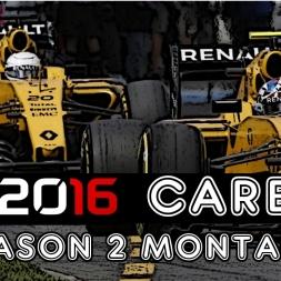 F1 2016 Career - Season 2 Montage