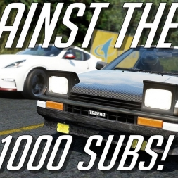 Assetto Corsa Akina 2017 AI Test + 1000 Subscribers!