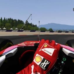 Red Bull Ring GP Ferrari SF15-T HoT LaP 1:08:117
