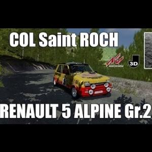 COL St ROCH en RENAULT 5 ALPINE Gr.2 [AC]