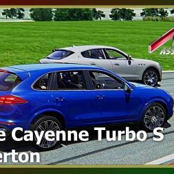 Assetto Corsa - Porche Cayenne Turbo S - Snetterton