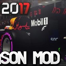 F1 2017 Season Mod
