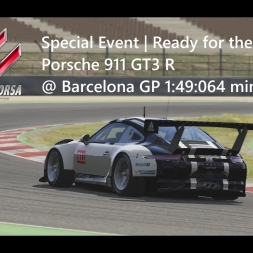 Assetto Corsa | Special Event Ready for the Party | Porsche 911 GT3 R @ Barcelona GP 1:49:064 min