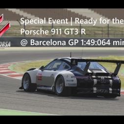 Assetto Corsa | Special Event Ready for the Party | Porsche 911 GT3 R @ Barcelona GP 1:49:064 min