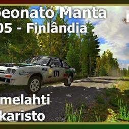 Dirt Rally - Campeonato Manta - Rally 05 - Etapa 01-02 (PT)