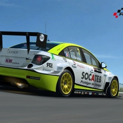 RaceRoom WTCC - Chevrolet Cruze @ HOCKENHEIMRING