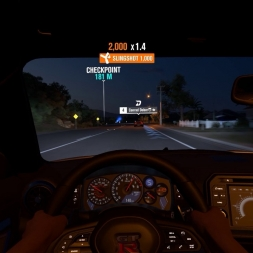 FH3 Night Race Nissan GT R PC Gameplay GTX 970 1440p