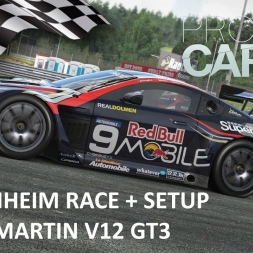Project CARS Hockenheim Race with Aston Martin V12 GT3 + setup
