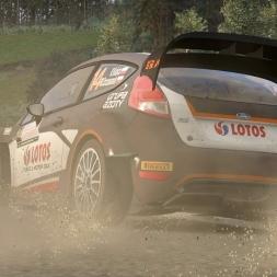 Fiesta WRC pushed hard (cinematic)