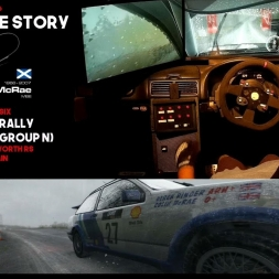 Colin McRae Sim Racing Story (Part 1 of 6) Sierra Cosworth / Rally GB