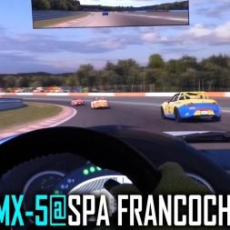 iRacing : Mazda MX-5 @ Spa Francochamps [POV] [PT-BR]