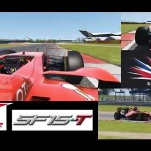 Ferrari SF15-T HOTLAP at Silverstone - Assetto Corsa