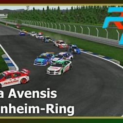 RFactor 2 - Toyota Avensis - Hockenheim-Ring