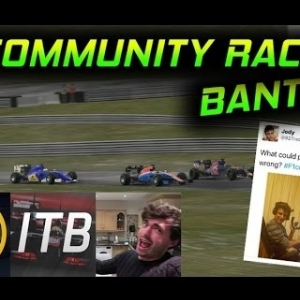 Tiametmarduk's F1 2016 PC Community Race   Commentary w/xMattyg & IntoTheBarrier