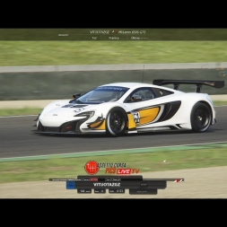 Mclaren 650 GT3 / Mugello / Race / Multiplayer / Assetto Corsa