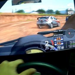 Automobilista Helmet cam[FPV] Lancer EVO XTR Rx at Ascurra race AI 100%