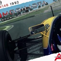 Automobilista Williams FW14B By ASRformula Real Onboard Cam at Interlagos