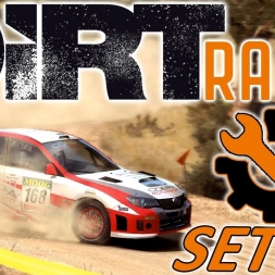 DiRT Rally | Subaru Impreza WRX STi Setup | Greece | Wheel & Controller [4K]