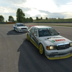 R3E RaceDepartment | Mercedes DTM 92 @ Zandvoort Fight for podium!!