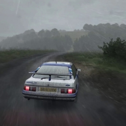 "DIRT RALLY-First time with G29 ""manual gears and cluntch""Ford Sierra Cossy"""