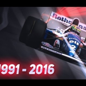 """THIS IS WHY WE LOVE F1""    F1 1991-2016 