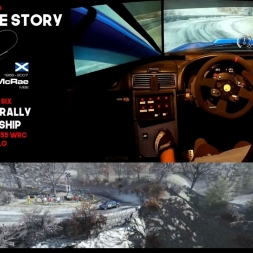 Colin McRae Sim Racing Story Part 2 of 6 Subaru Impreza Monte Carlo