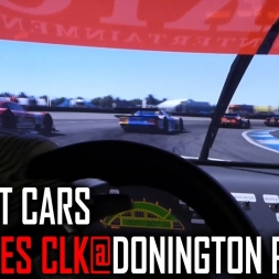 Project Cars : Mercedes CLK GTR @ Donington Park [POV]