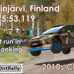 Ford Fiesta RS Rally , Kontinjärvi, Top 2 Run [Dirt Rally]