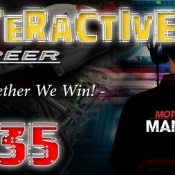 Motorsport Manager ITA gameplay - S02 Race/Gara 01 (2/2) Interactive Career - Carriera Interattiva