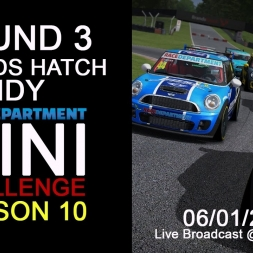 RD Mini Challenge | Round 3 Brands Hatch Indy