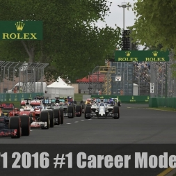 F1 2016 Career Mode #1 - Getting started in Melbourne